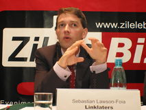 Sebastian Lawson. Is Partner at german law company Royalty Free Stock Images