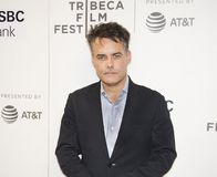Sebastian Lelio attends the 2018 Tribeca Film Festival. Oscar winning Chilean director and co-writer Sebastian Lelio arrives at the premiere of `Disobedience` at Stock Photography