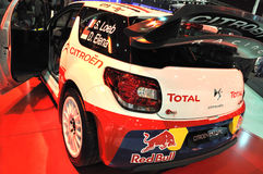 Sebastian Loeb Car Stock Afbeelding