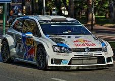 Sebastian Ogier - WRC - 02 Στοκ φωτογραφία με δικαίωμα ελεύθερης χρήσης