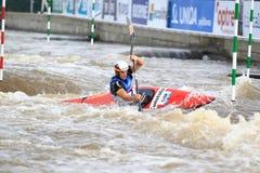 Sebastian Schubert - water slalom world championship Royalty Free Stock Photography