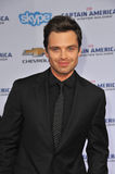 Sebastian Stan imagem de stock