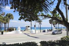 Sebastian Street Beach Opening, Ft Lauderdale Imagens de Stock Royalty Free