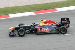 Sebastian Vettel σε Sepang Μαλαισία Στοκ Εικόνες