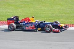 Sebastian Vettel in 2012 F1 Canadian Grand Prix Royalty Free Stock Photos