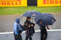 Sebastian Vettel au prix grand de Montréal Photos stock