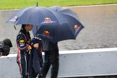 Sebastian Vettel au prix grand de Montréal Image stock