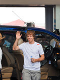 Sebastian Vettel (equipe Red Bull) Fotos de Stock