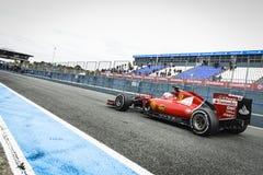 Sebastian Vettel Ferrari 2015 Zdjęcie Stock