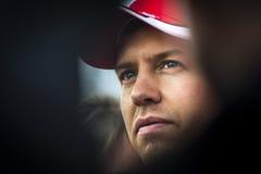 Sebastian Vettel Ferrari 2015 Stock Photography