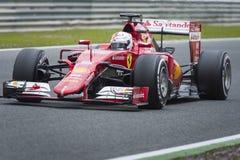 Sebastian Vettel Ferrari 2015 Stock Images