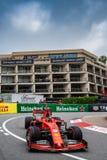 #5 Sebastian VETTEL GER, Ferrari, SF90 against the Fairmont hotel