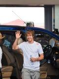 Sebastian Vettel (personas Red Bull) Fotos de archivo
