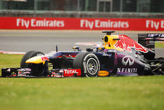 Sebastian Vettel RB9 Stock Photography