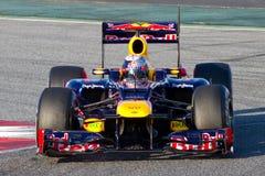 Sebastian Vettel Red Bull Royalty Free Stock Image