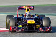 Sebastian Vettel (Red Bull) Stock Images