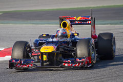 Sebastian Vettel of Red Bull Stock Photography