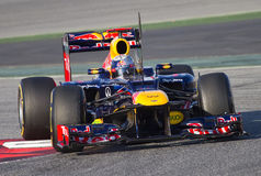 Sebastian Vettel of Red Bull F1 Stock Image