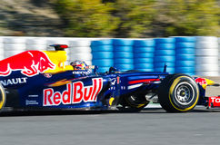 Sebastian Vettel of Red Bull Racing team Stock Photo