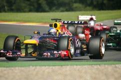 Sebastian Vettel Redbull Racing Fotografia Stock Libera da Diritti