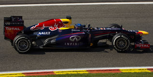 Sebastian Vettel Redbull Racing Royalty Free Stock Photos
