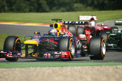 Sebastian Vettel Redbull Racing Royalty Free Stock Photography