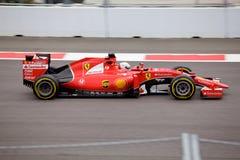 Sebastian Vettel Scuderia Ferrari Formuła Jeden Sochi Rosja Zdjęcie Royalty Free