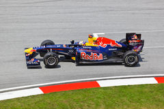 Sebastian Vettel (team Red Bull) Royalty Free Stock Photography