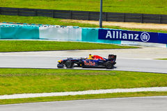Sebastian Vettel (team Red Bull) Royalty Free Stock Photos