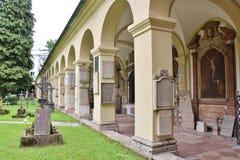 Sebastianfriedhof, Salzburg Stock Images