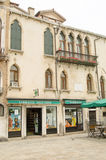 Sebastiano Venier Historic Home. VENICE, ITALY - JUNE 10: Historic home of the former Doge of Venice Sebastiano Venier (1496 - 1578) on June 10 2013. Elected as Royalty Free Stock Photo