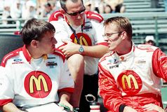 Sebastien Bourdais Royalty Free Stock Photography