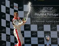 Sebastien Bourdais - FC Sevilla Royalty Free Stock Images