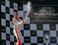 Sebastien Bourdais - FC Sevilla Royalty Free Stock Images