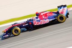 Sebastien Buemi F1 2011 - Toro Rosso - Zdjęcia Stock