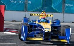 Sebastien Buemi, Formula E - Putrajaya ePrix, Malaysia, 2015 Royalty Free Stock Photo