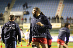 Sebastien Chabal of Racing 92 Stock Photo