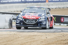 Sebastien Loeb.  Barcelona FIA World Rallycross Stock Photos