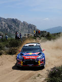 Sebastien Loeb, rally Italia Sardegna Stock Photos