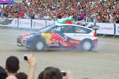 Sebastien Loeb in Sofia Stock Photos
