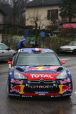 Sebastien Loeb wins Monte Carlo Rally Royalty Free Stock Photo