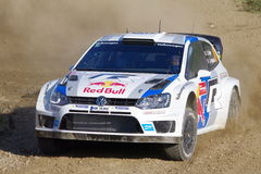 Sebastien Ogier Royalty Free Stock Photos