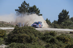 Sebastien Ogier, WRC, Ford Fiesta WRT Stock Photos