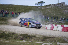 Sebastien Ogier, WRC, Ford Fiesta WRT Royalty Free Stock Image