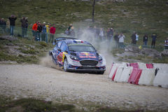 Sebastien Ogier, WRC, Ford Fiesta WRT Royalty Free Stock Photography
