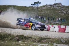 Sebastien Ogier, WRC, WRT de Ford Fiesta Photo libre de droits