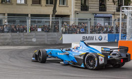 Sebastien Olivier Buemi - The Winner of Paris ePrix 2017 Royalty Free Stock Photo