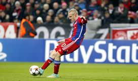 SEBASTIEN RODE  BAYERN MUNICH Royalty Free Stock Images