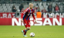 SEBASTIEN RODE  BAYERN MUNICH Stock Photography