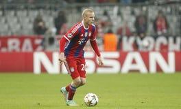 Sebastien Rode Bayern Munich v AS Rome Champion League Stock Photography